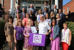 Commissioners proclaim September as Worcester Goes Purple