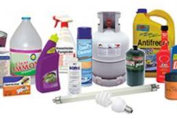 Image depicting household hazardous materials